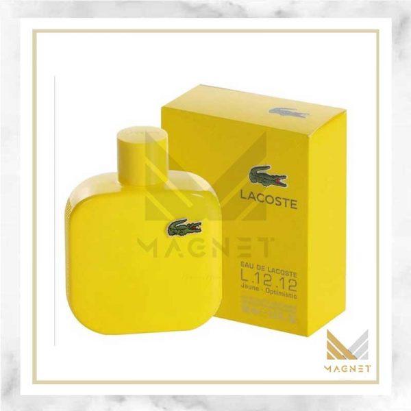 عطر ادکلن لاگوست زرد | Lacoste L.12.12. (Jaune) Yellow