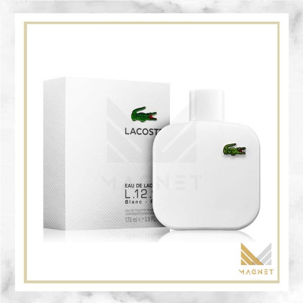 عطر ادکلن لاگوست سفید | Lacoste L.12.12 Blanc, عطر مردانه, عطر مردانه اصل
