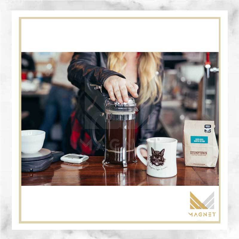 دستگاه فرنچ پرس , french press coffee