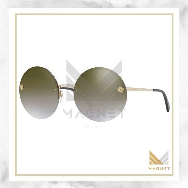 عینک آفتابی Versace مدل VE2176 (قهوه ای)