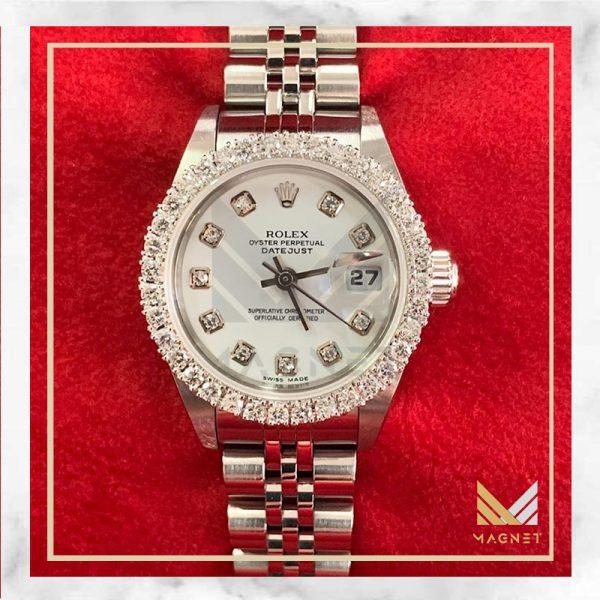 ساعت Rolex مدل date just for ladies
