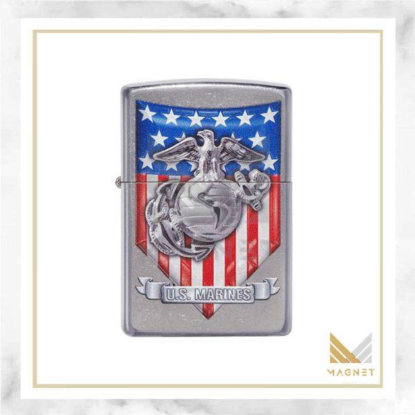 فندک زیپو کد 49317 -087152 207 USMC