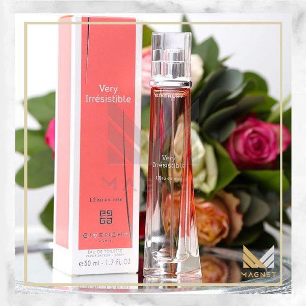 عطر ادکلن جیوانچی وری ایرسیستیبل لئو ان رز | Givenchy Very Irresistible L`Eau en Rose