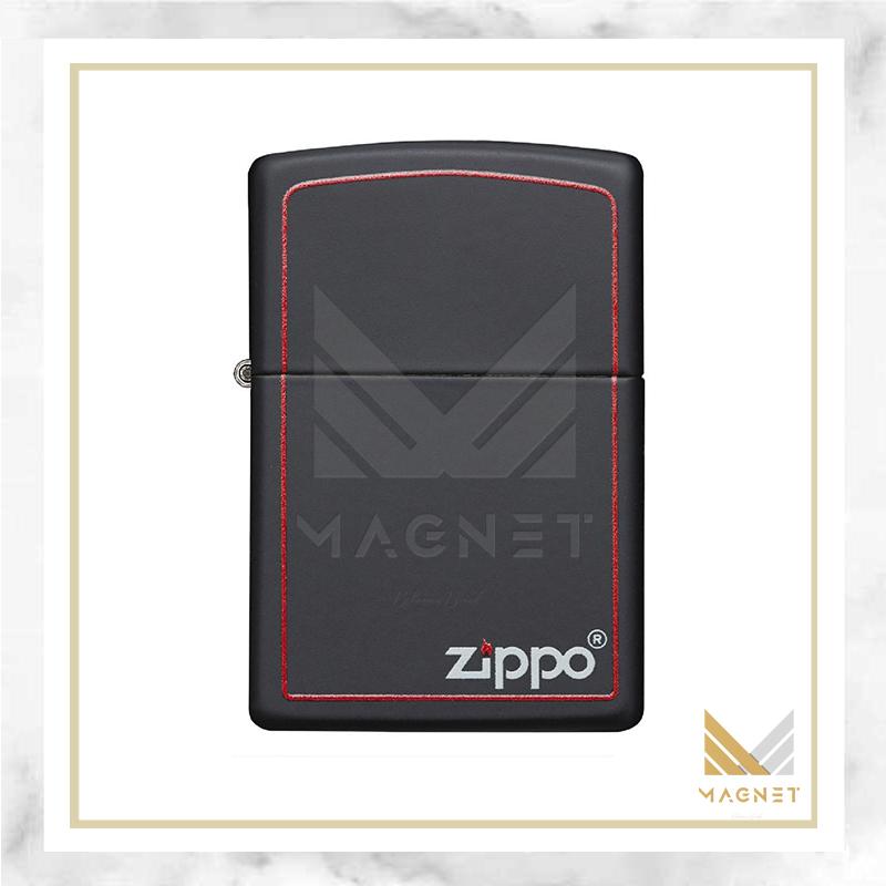 218ZB-BLKMATTE W/ZIP.BORDER-720060182