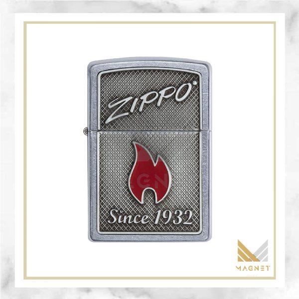 فندک زیپو کد 29650 207 ZIPPO AND FLAME