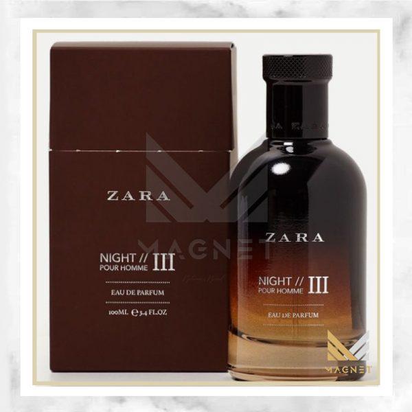 عطر ادکلن زارا نایت پور هوم ۳ | Zara Night Pour Homme III