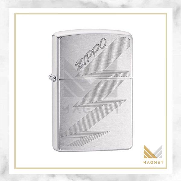 فندک زیپو کد 29683 200 PF18 ZIPPO LOGO DESIGN