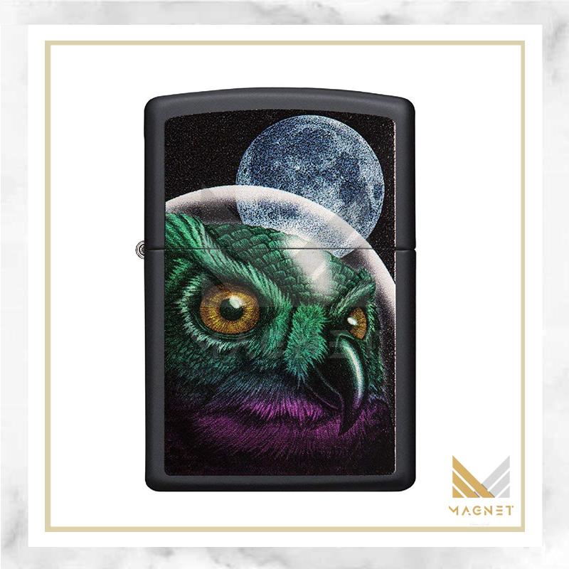 فندک زیپو کد 29616 218 SPACE OWL DESING