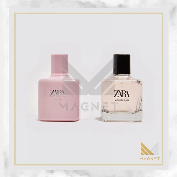 عطر ادکلن زارا توبرز و واندر رز-دوقلو | Zara tuberose and wonder rose