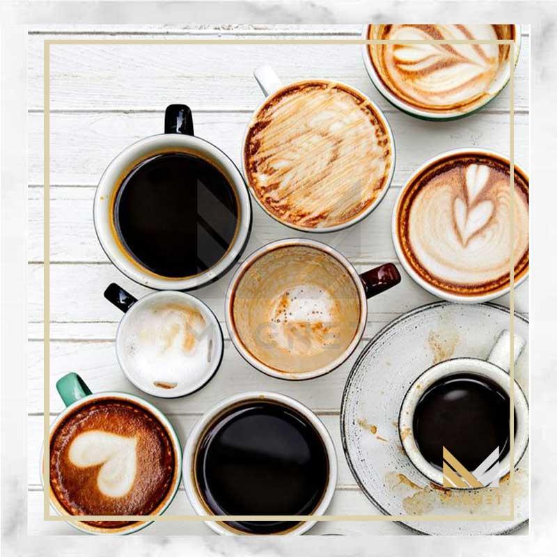 انواع نوشیدنی های قهوه